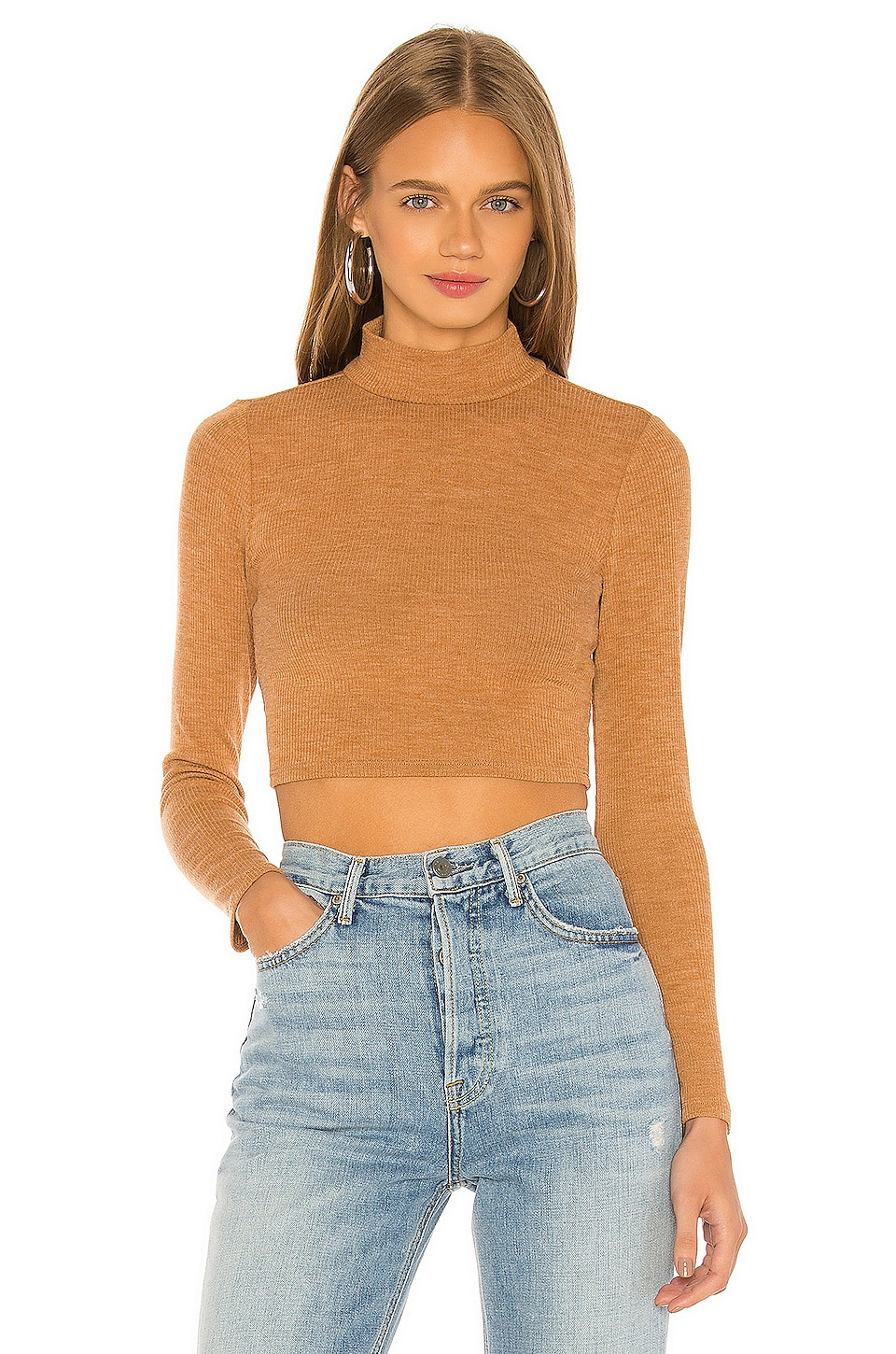 Lovers + Friends Cameron Sweater in Camel