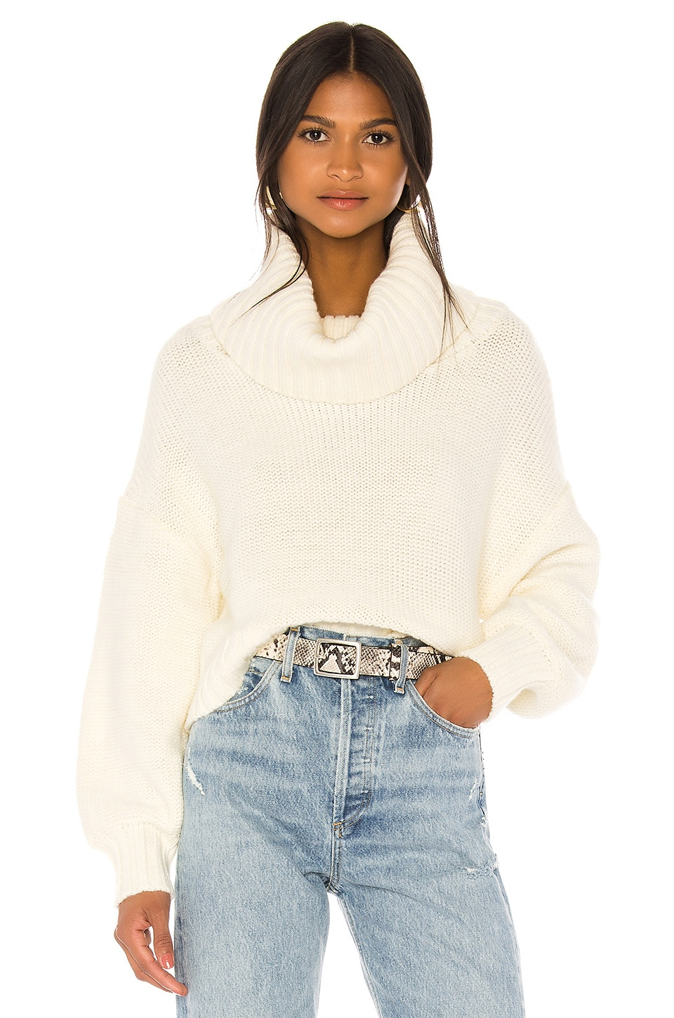 Lovers + Friends Ryder Sweater in Ivory