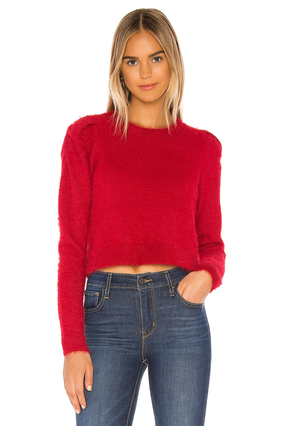 Lovers + Friends Mariah Sweater in Plum