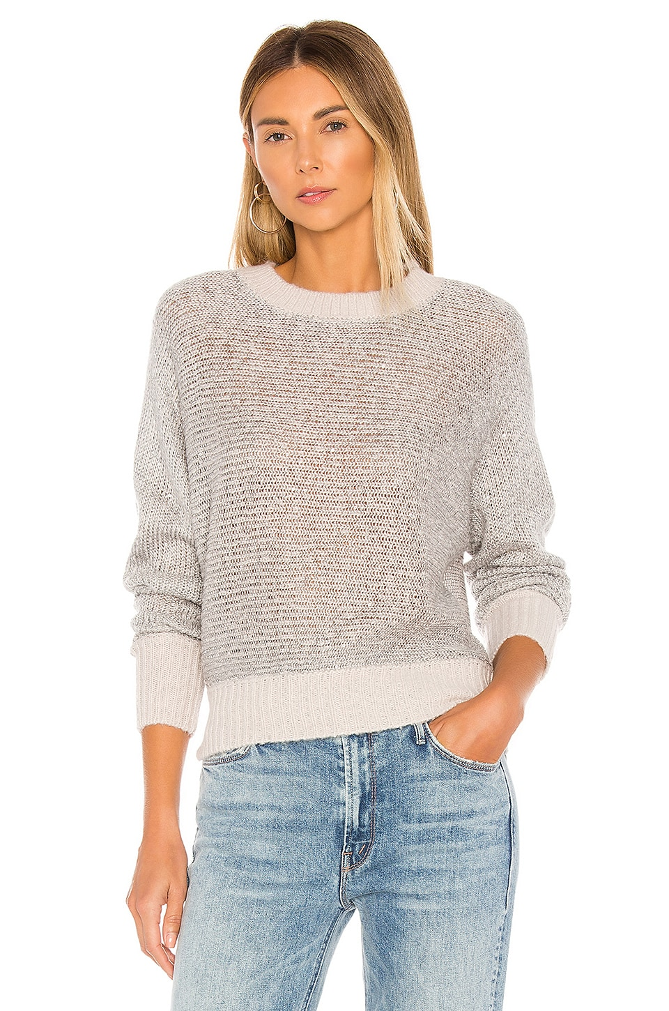 Lovers + Friends Desert Nights Sweater in Silver