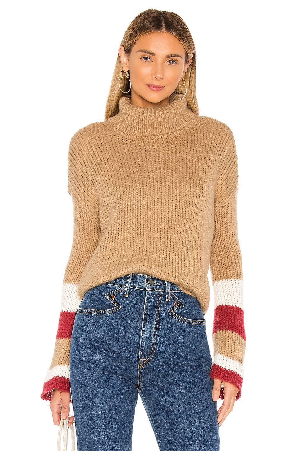 Lovers + Friends Cisco Sweater in Toffee