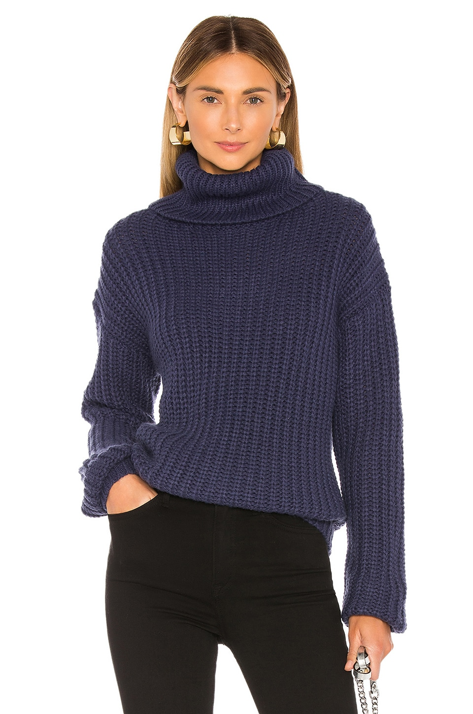 Lovers + Friends Marlina Sweater in Blue
