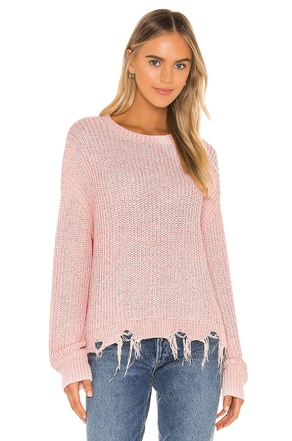 Lovers + Friends Lansel Sweater in Pink