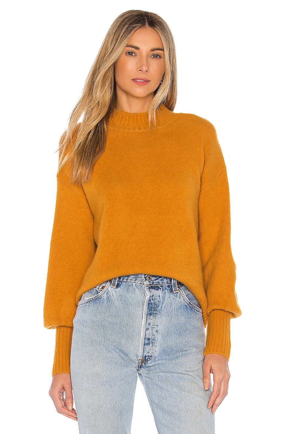 Lovers + Friends Esma Sweater in Yellow