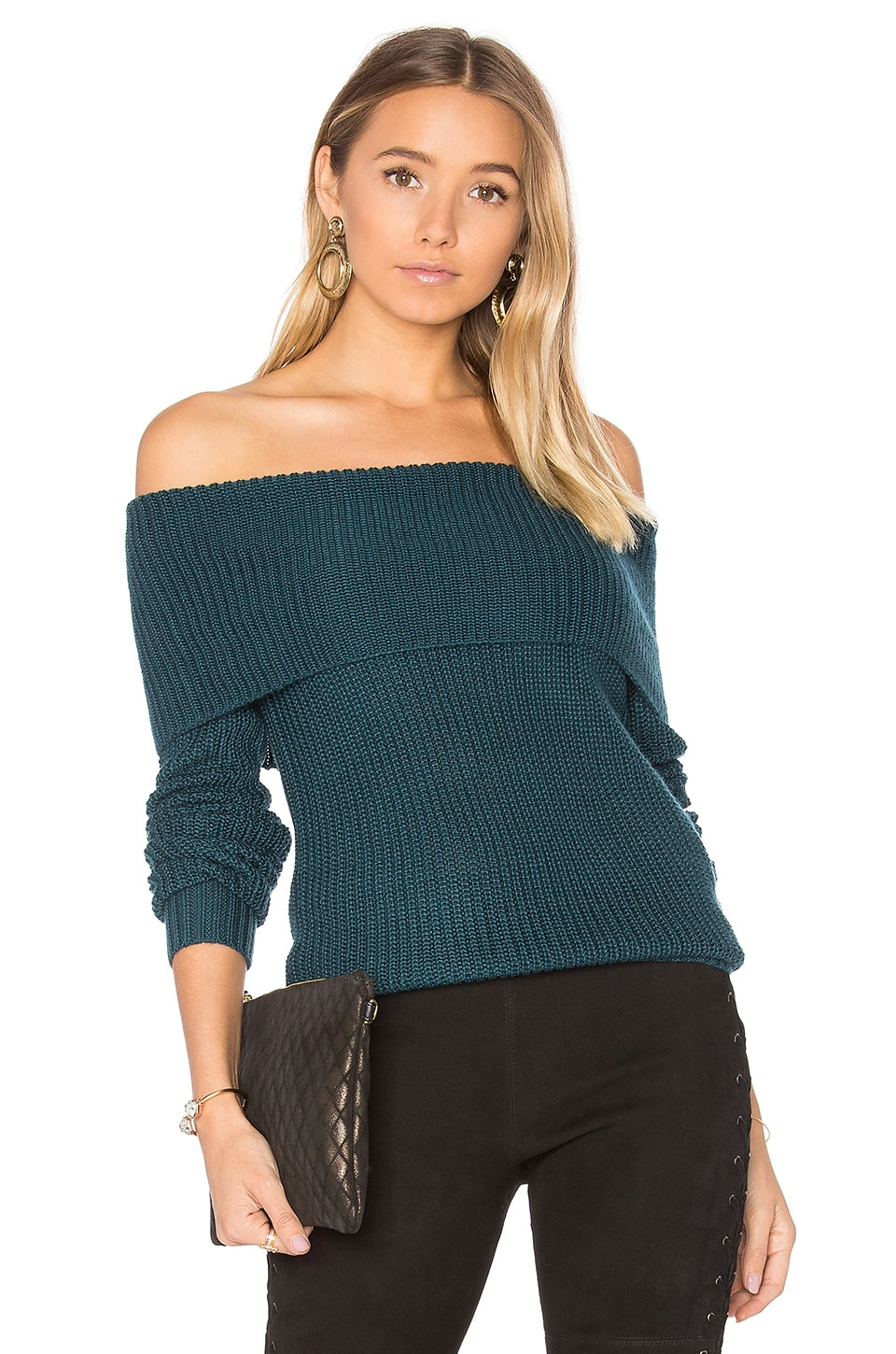 Lovers + Friends x REVOLVE Luna Sweater in Jade