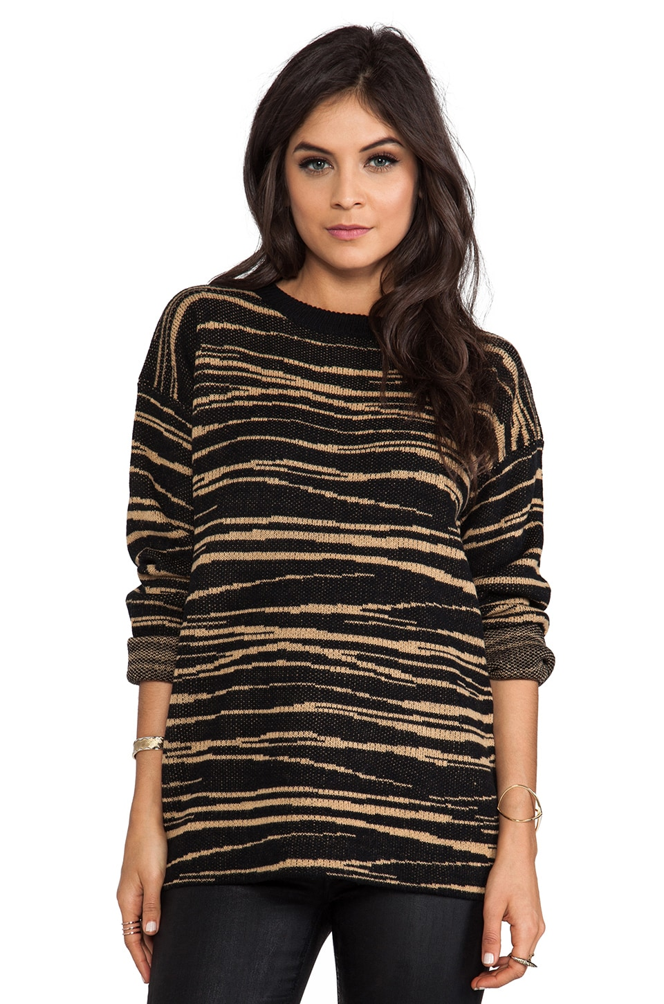 Lovers + Friends Wild Cat Pullover in Wild Cat