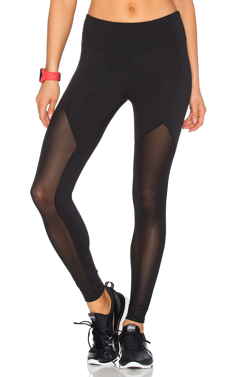 WORK by Lovers + Friends Sprinter Mesh Legging by Lovers + Friends