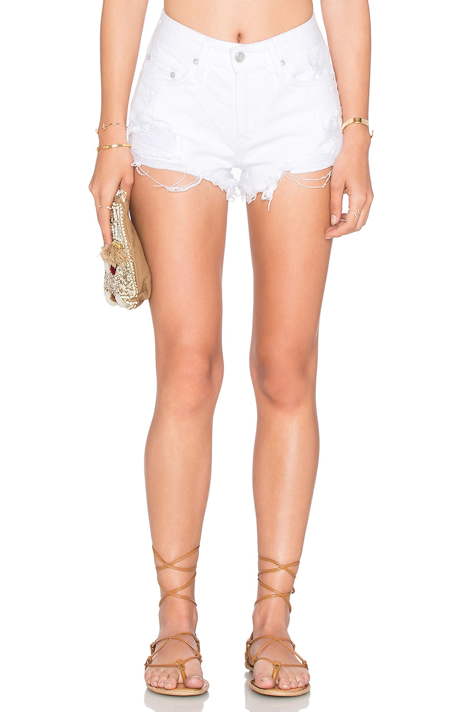Lovers + Friends SHORT TAILLE HAUTE JACK