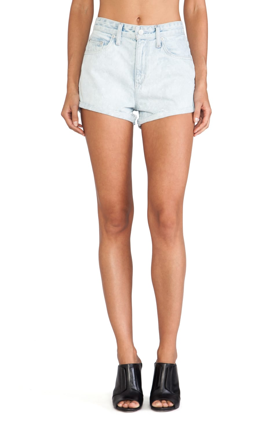 Lovers + Friends Jack High Waisted Short in Alameda