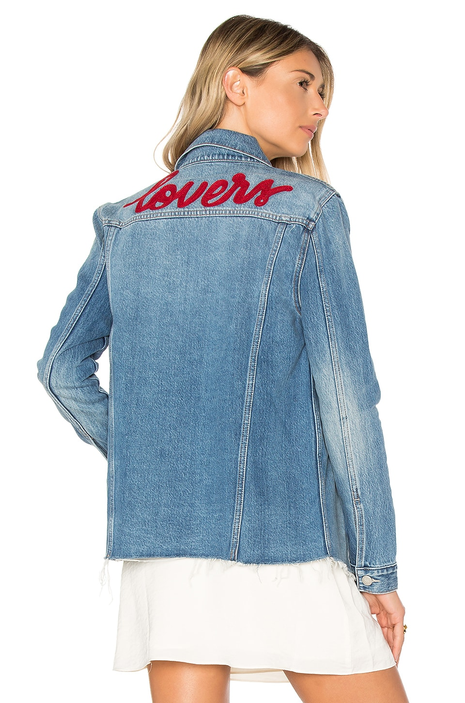 Lovers + Friends James Denim Jacket in Sarratoga