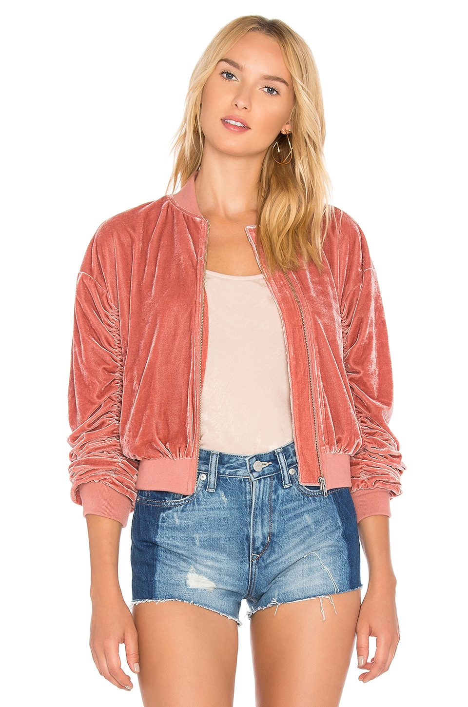 x REVOLVE The Leighton Bomber by Lovers + Friends