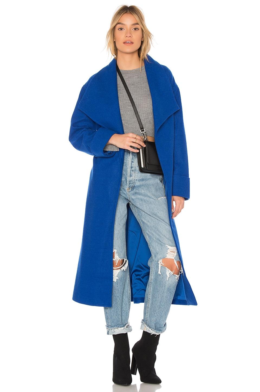 Lovers + Friends x REVOLVE Maddie Coat in Cobalt