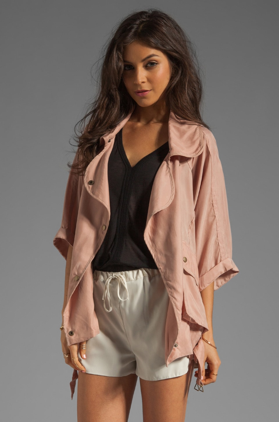 Lovers + Friends Fun Times Jacket in Natural