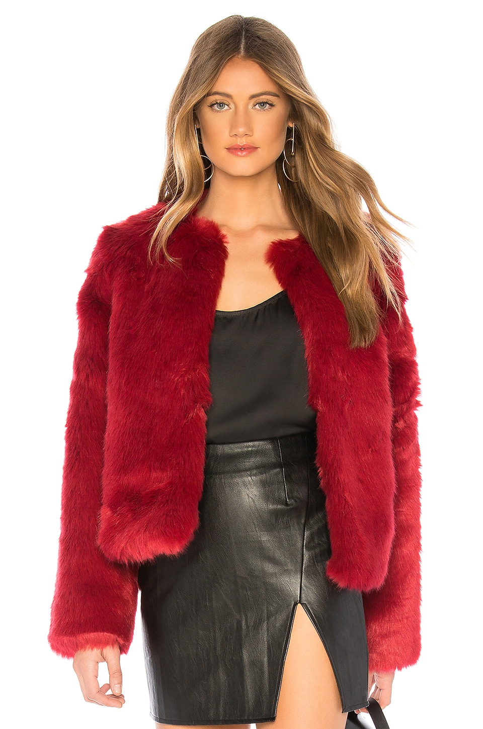 NYC Faux Fur Jacket