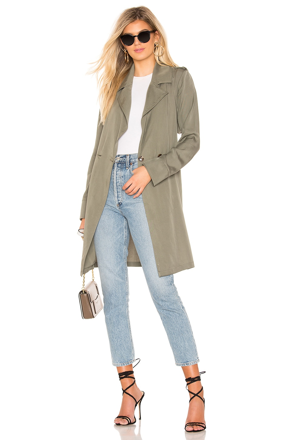Lovers + Friends Blaire Jacket in Green