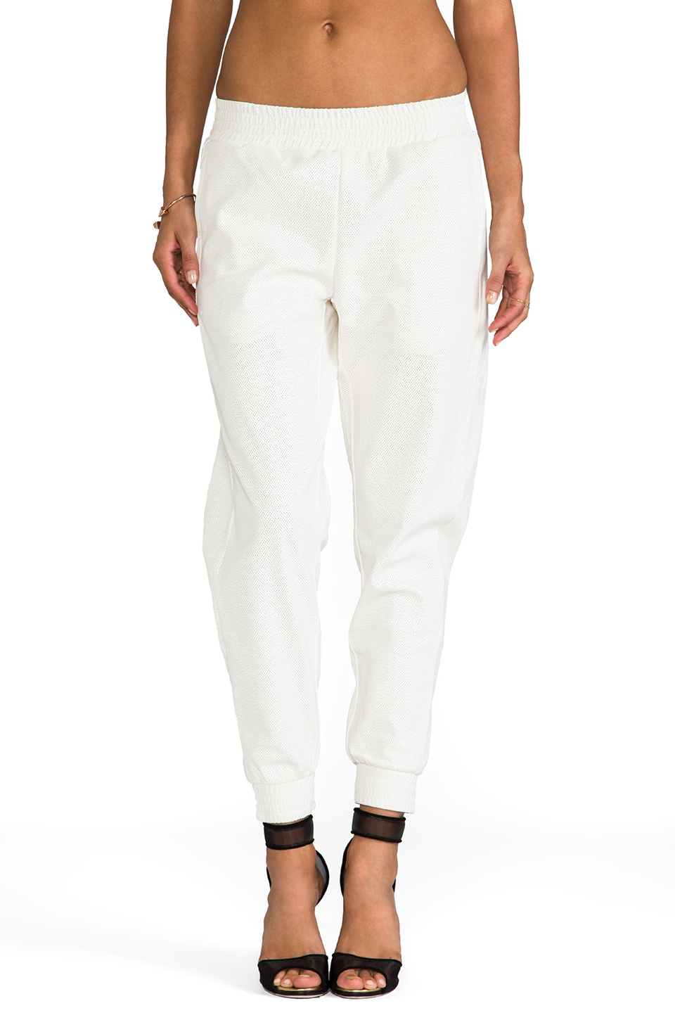 Lovers + Friends Pour REVOLVE Pantalon Track en Blanc