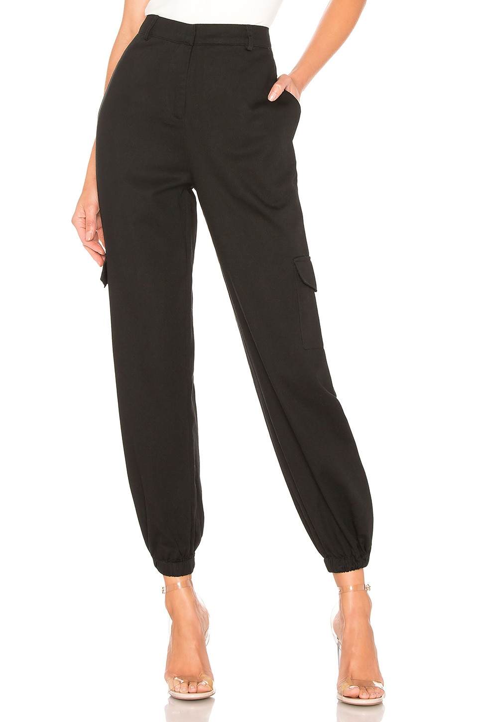 Lovers + Friends Karter Pants in Black