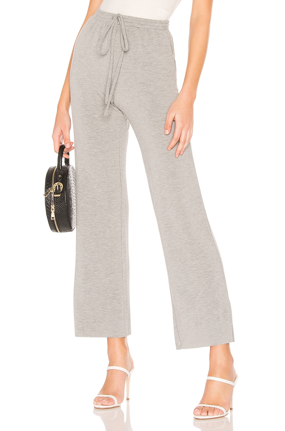 Lovers + Friends Kassidy Pants in Heather Grey