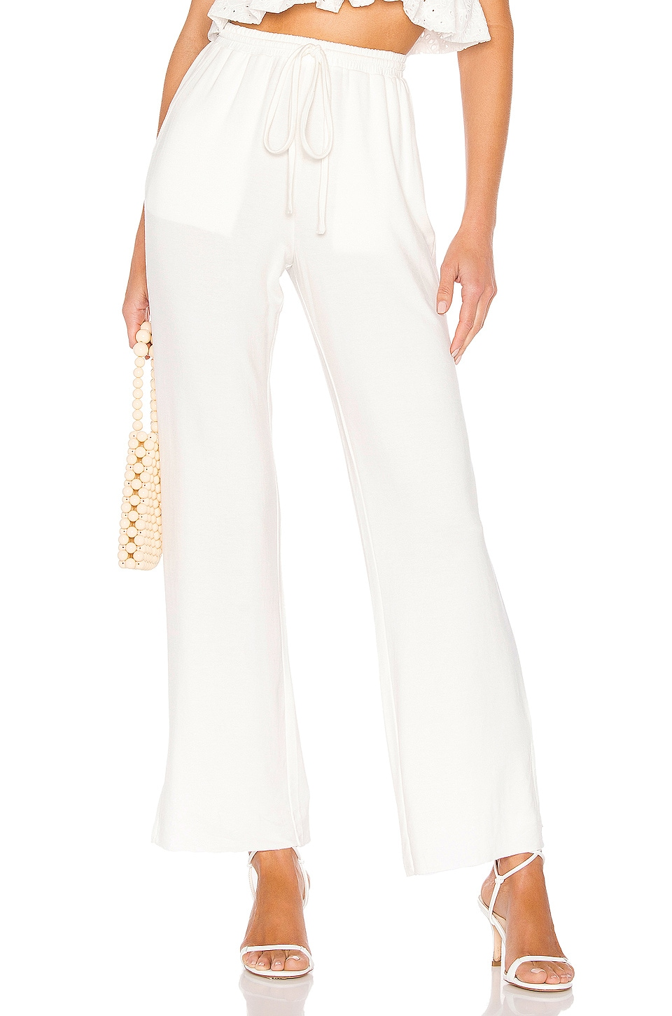 Lovers + Friends Kassidy Pants in White