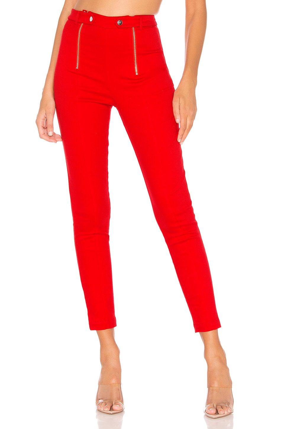 Lovers + Friends Sara Legging in Red