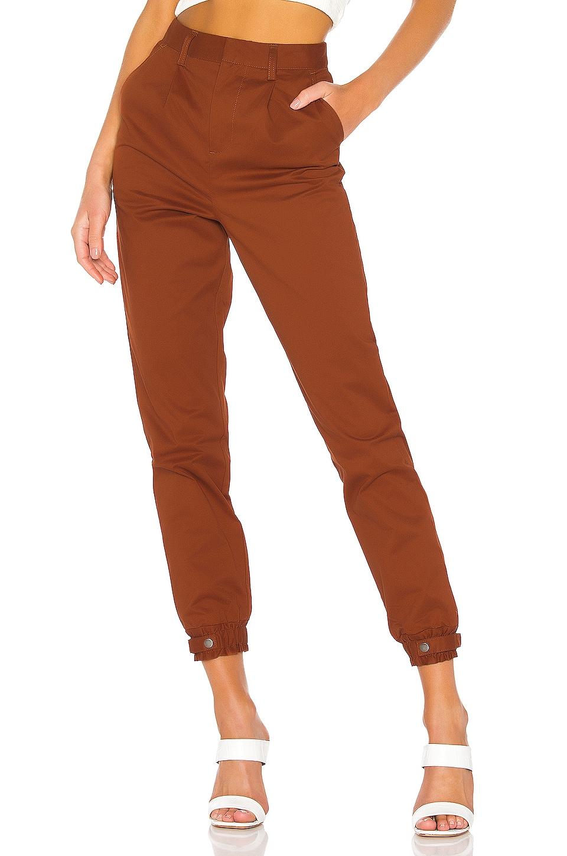Lovers + Friends Jameson Pants in Rust