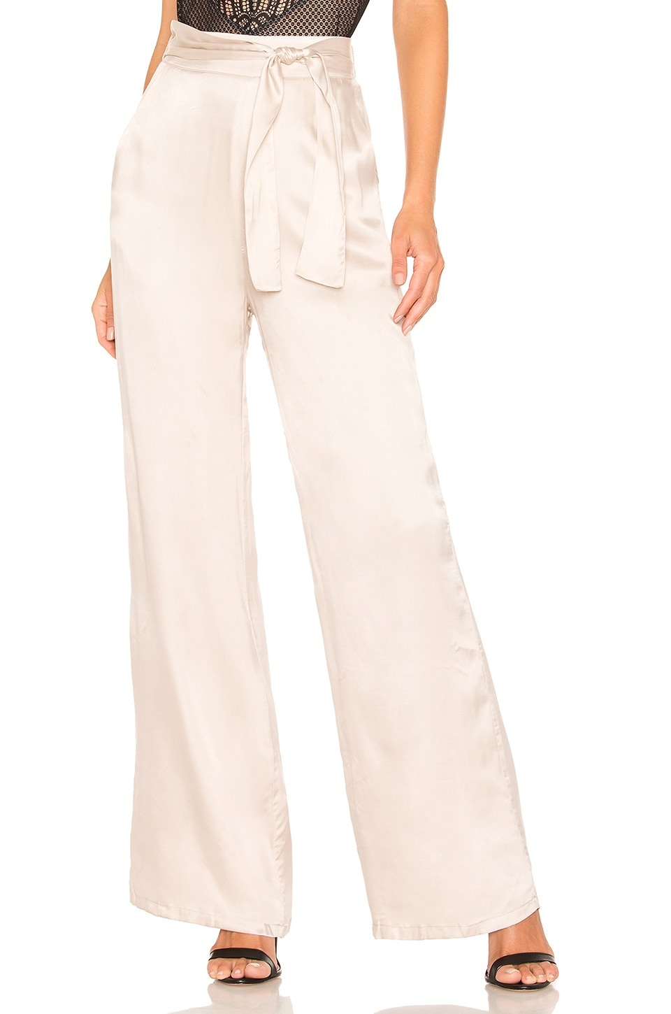 Lovers + Friends Ariana Pant in Nude