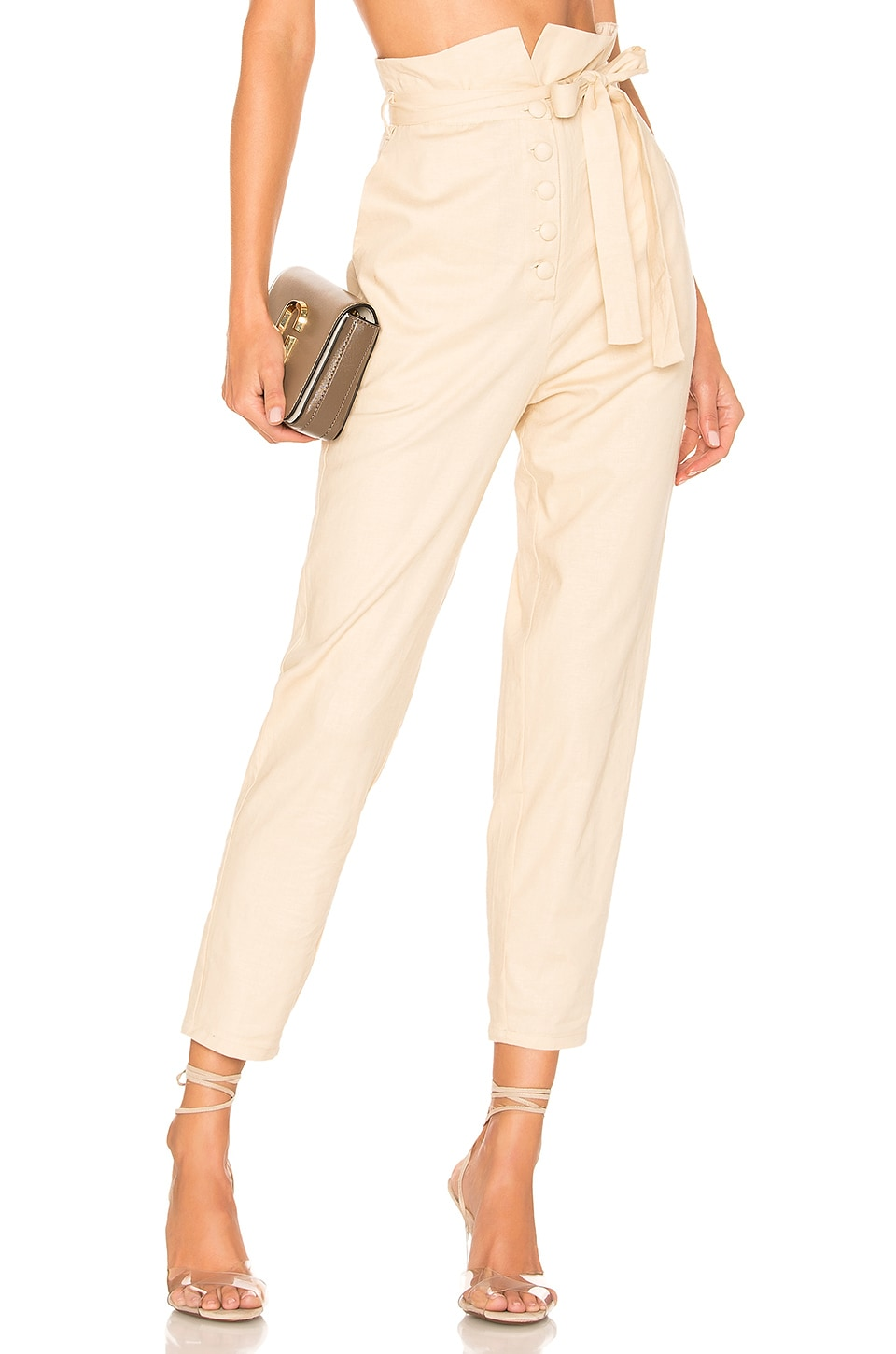 Lovers + Friends Calvin Pant in Natural