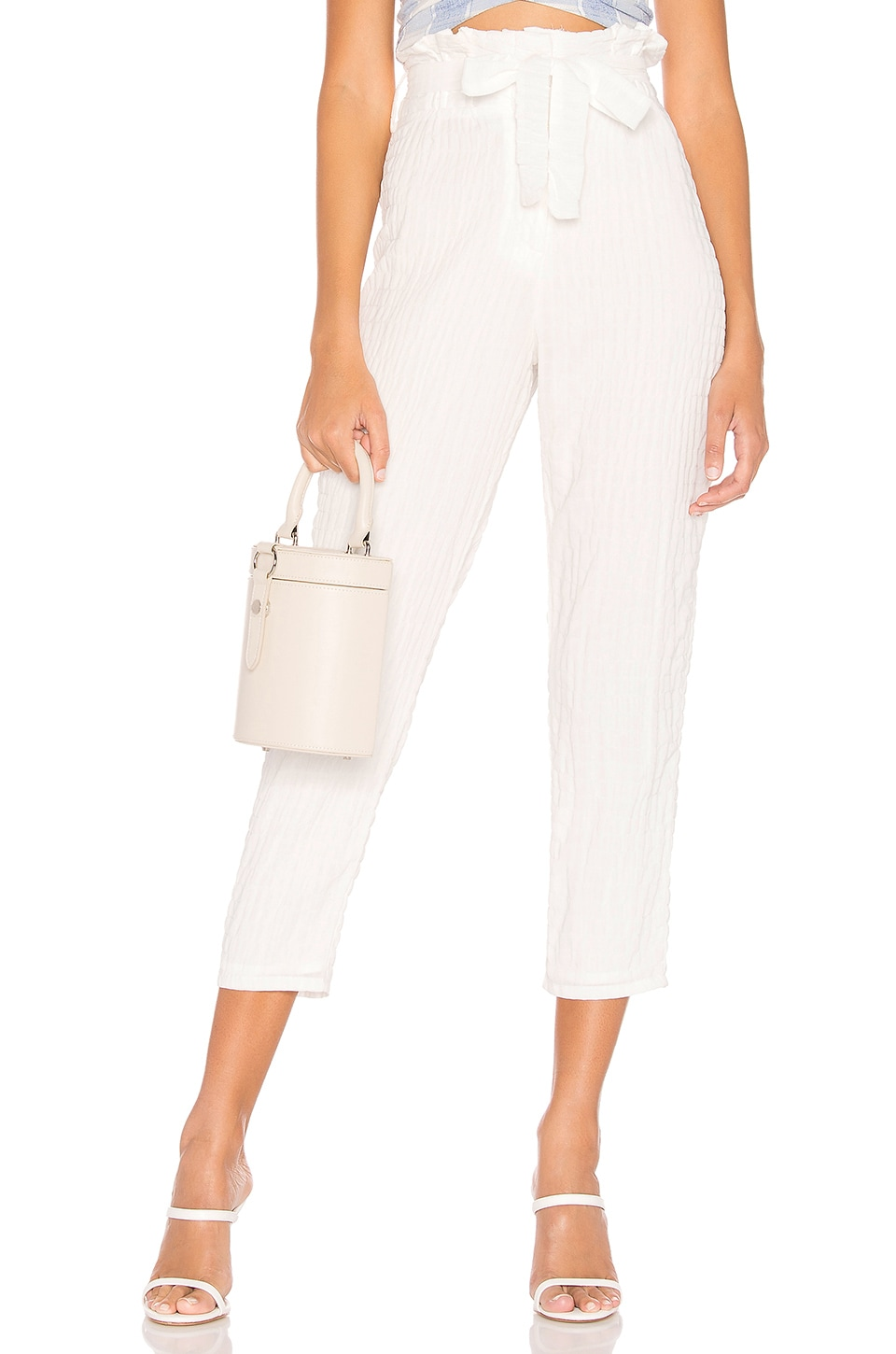Lovers + Friends Irving Pant in White