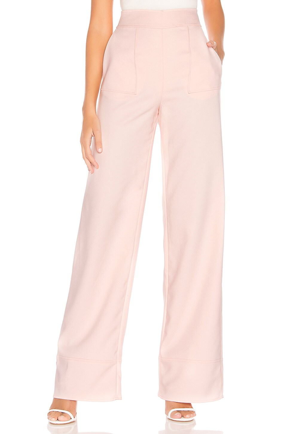 Lovers + Friends Sedge Pant in Blush