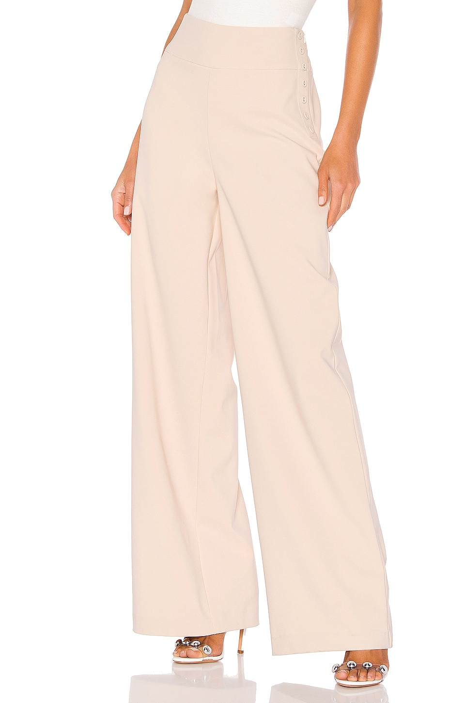 Lovers + Friends Aaron Pants in Beige