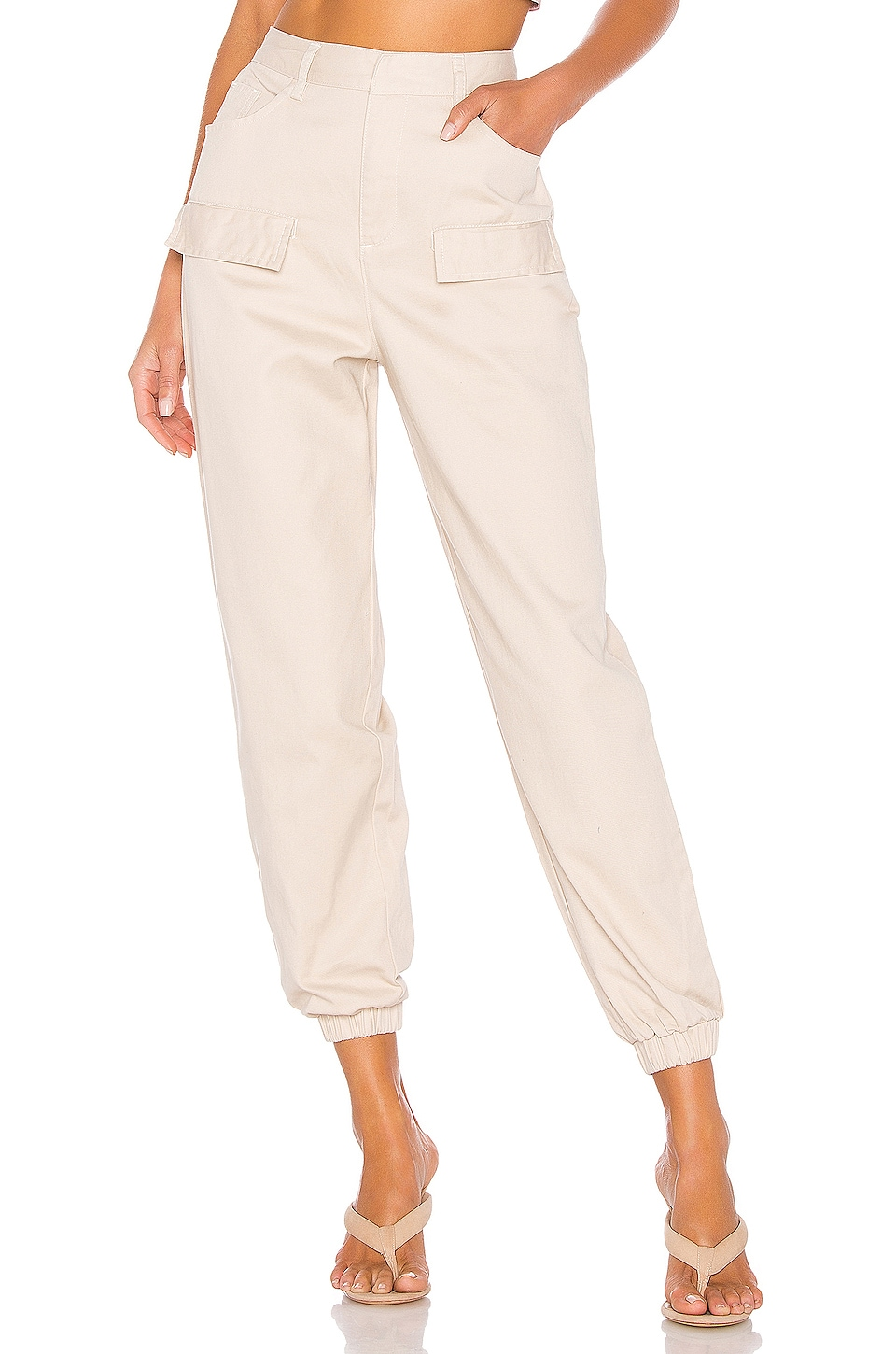 Lovers + Friends Arianna Pants in Khaki