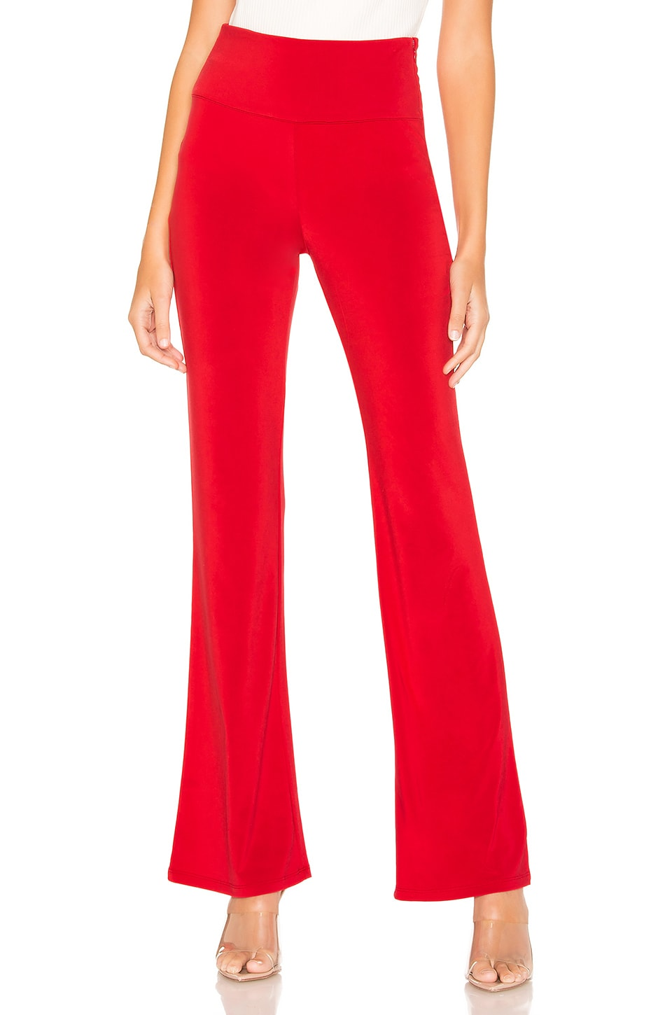 Lovers + Friends Annebell Pants in Red