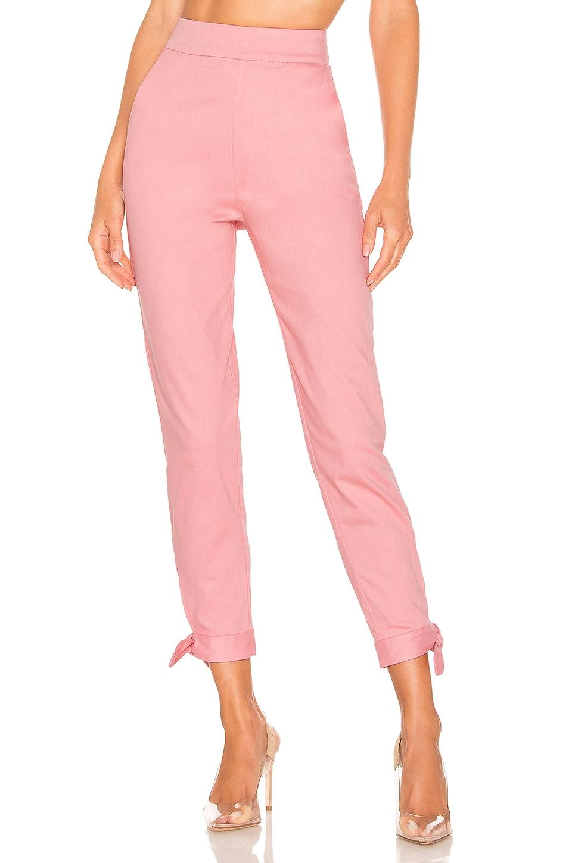 Lovers + Friends Mariah Pant in Pink
