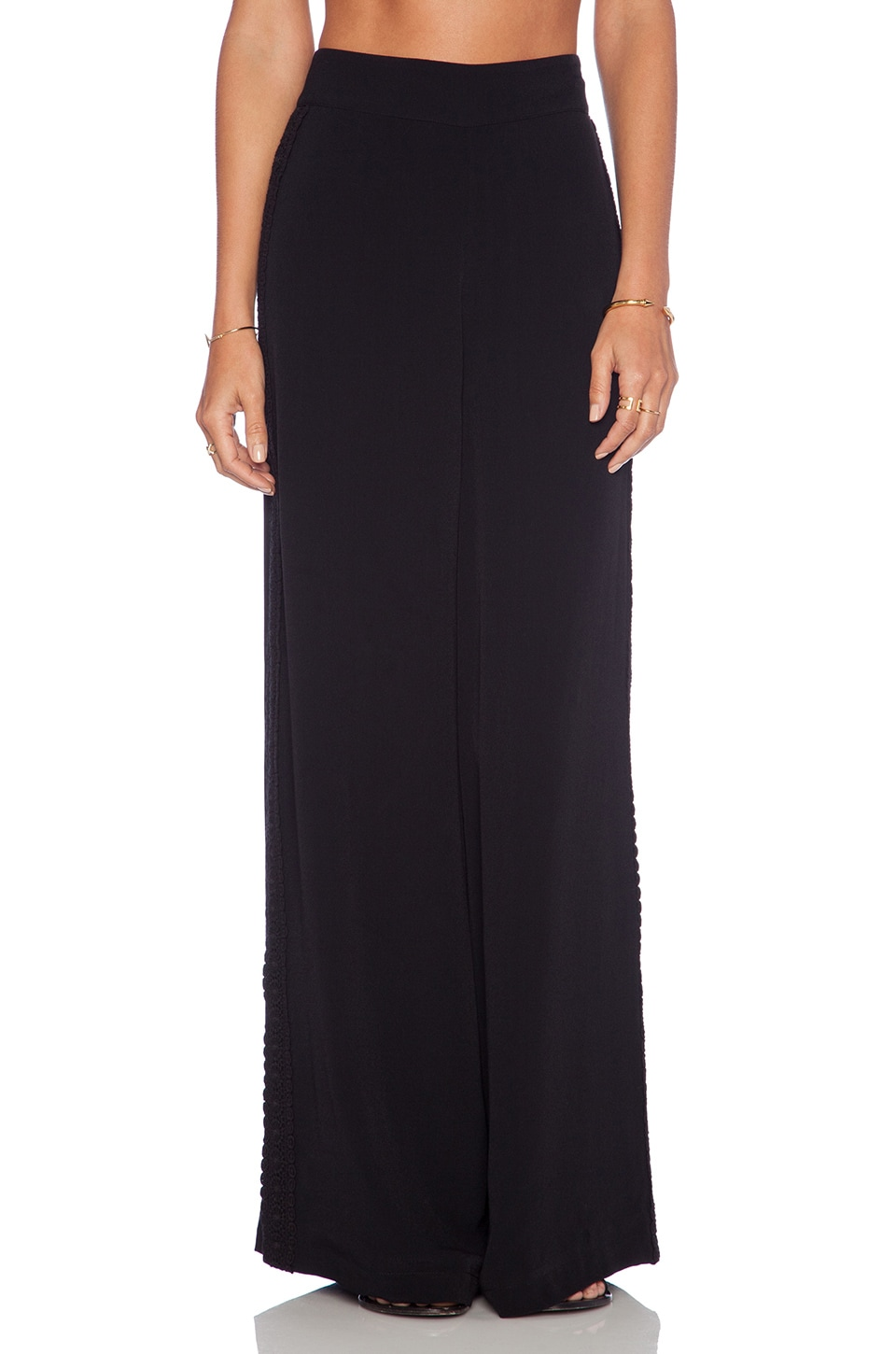 Lovers + Friends Jhene Aiko for Lovers and Friends Willow Pants in Black