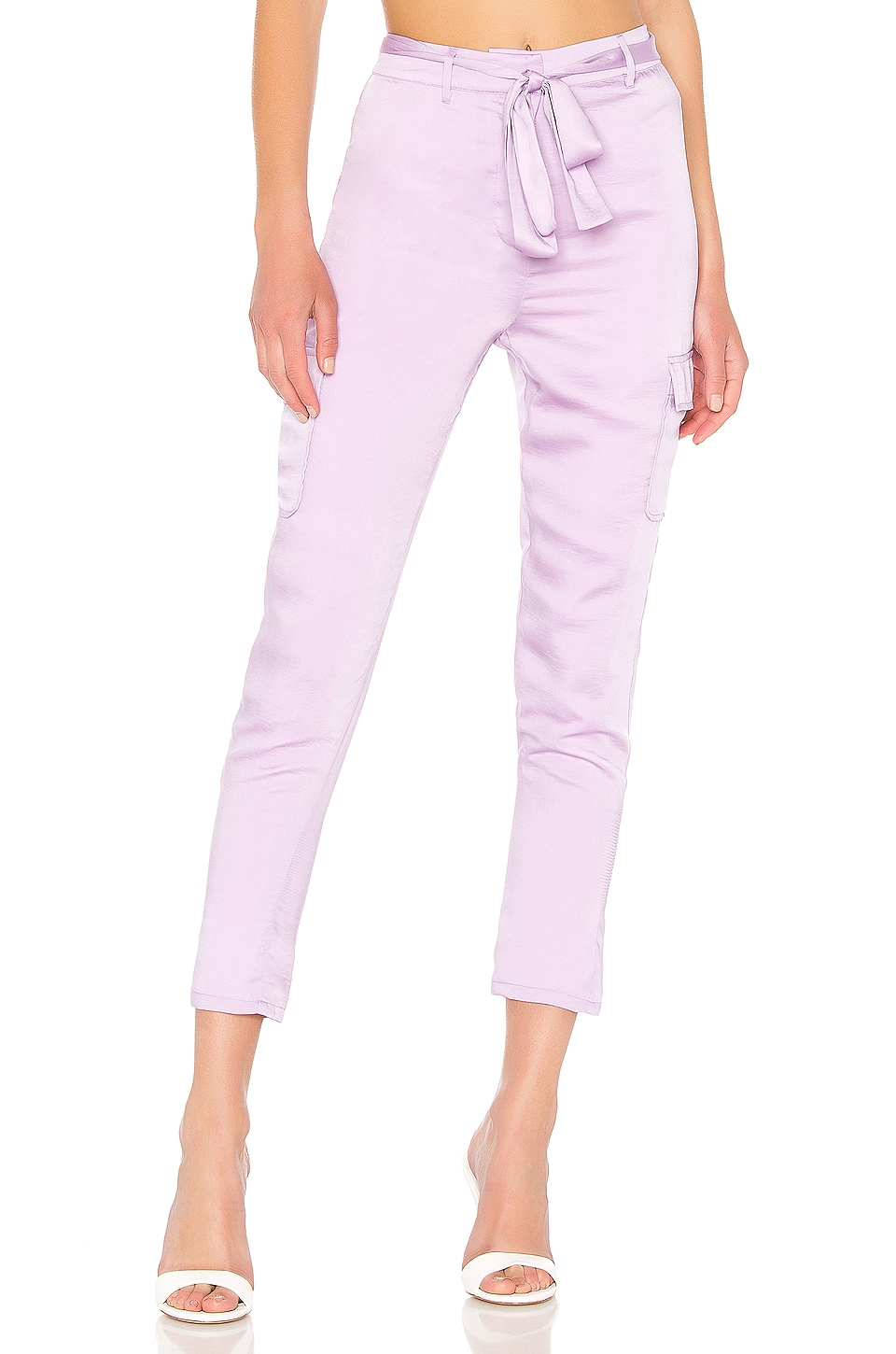 Lovers + Friends Clarissa Pants in Lilac