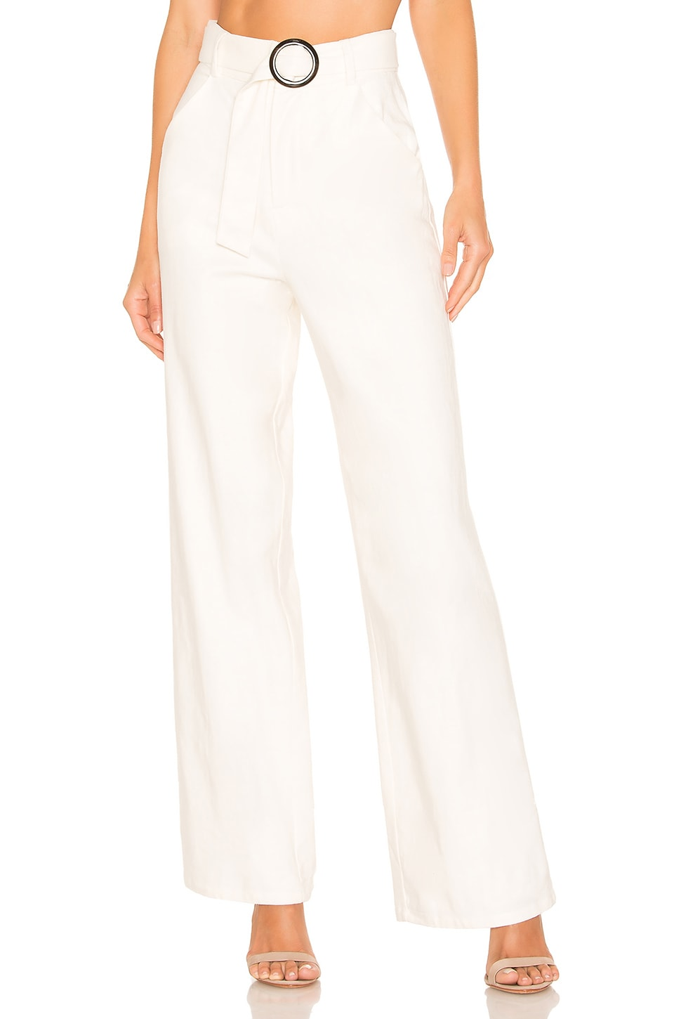 Lovers + Friends Suri Pant in White