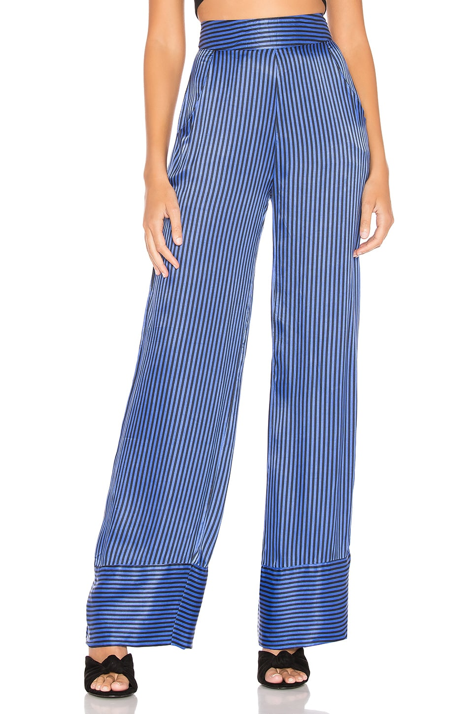 Lovers + Friends Meredith Pant in Marine Blue