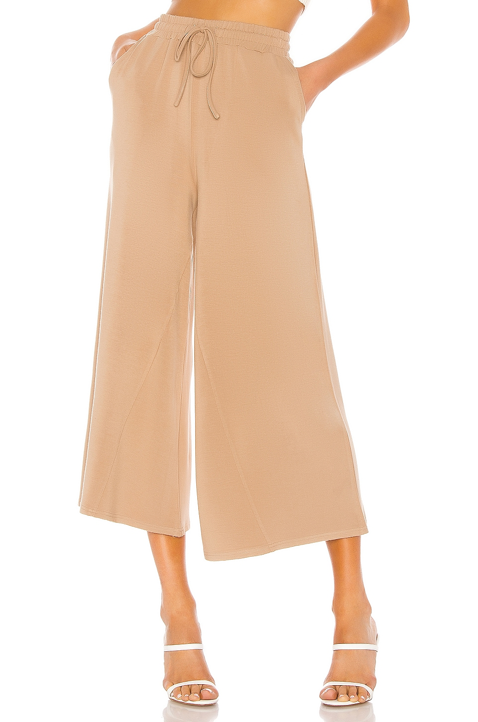 Lovers + Friends Mallorca Pants in Taupe