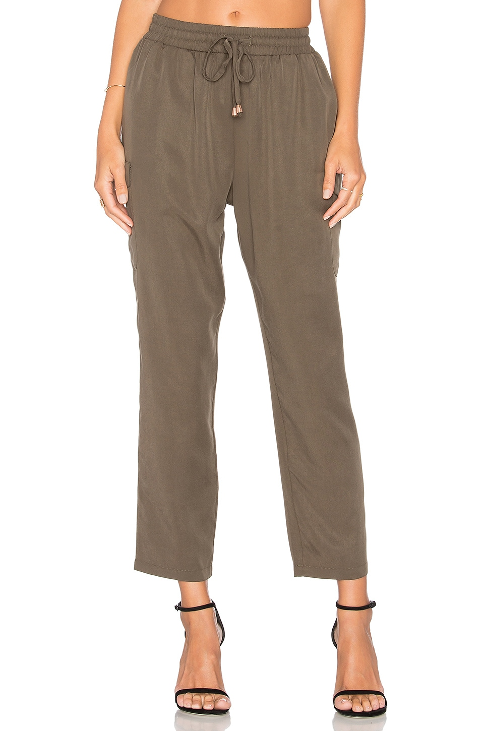 Lovers + Friends Zoey Pant in Moss