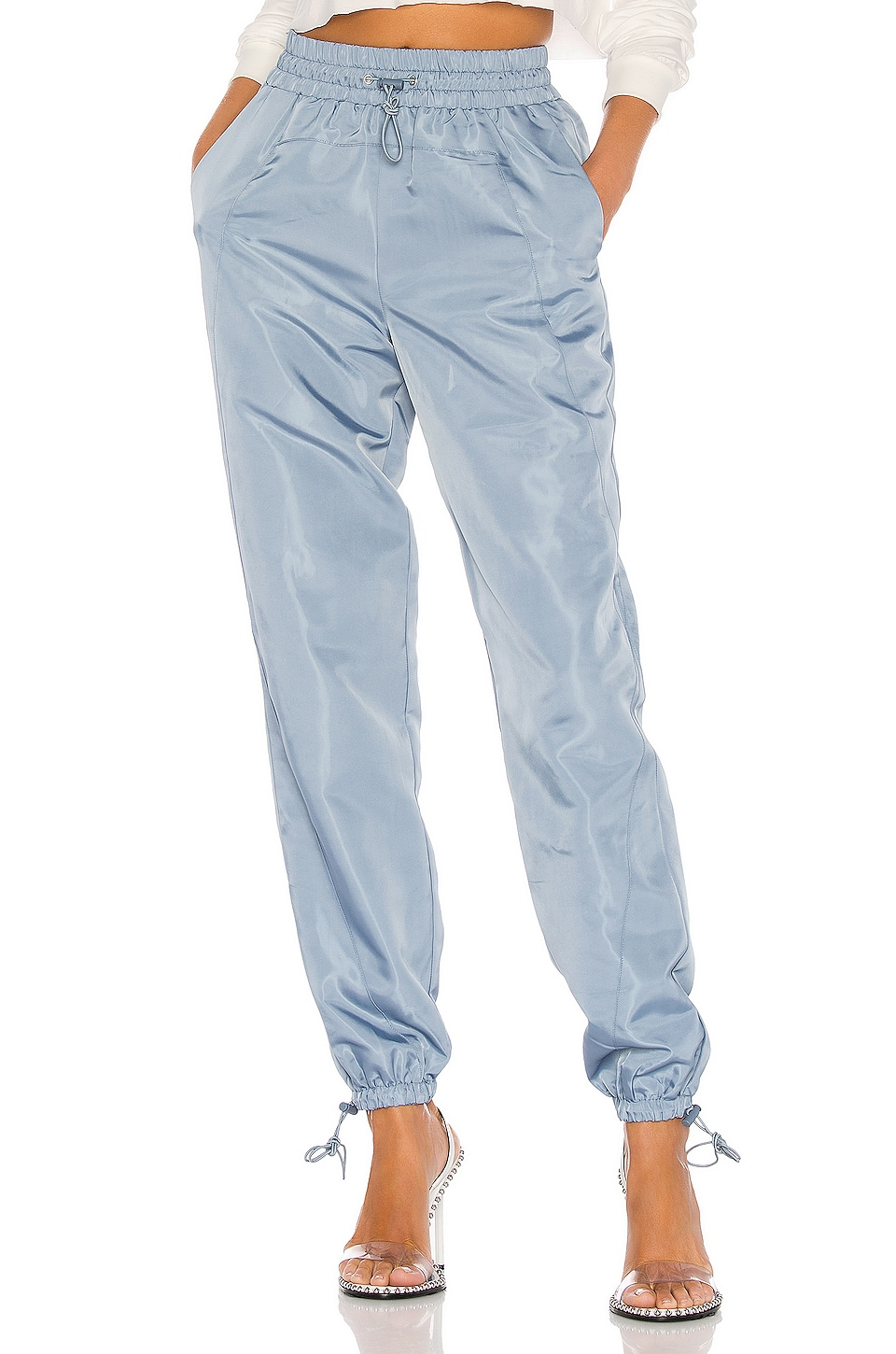 Lovers + Friends Lydia Jogger Pant in Storm Blue