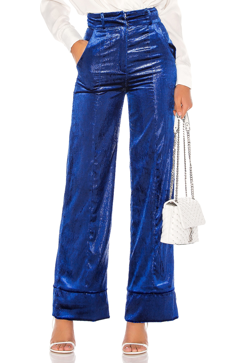 Lovers + Friends Zane Pant in Royal Blue