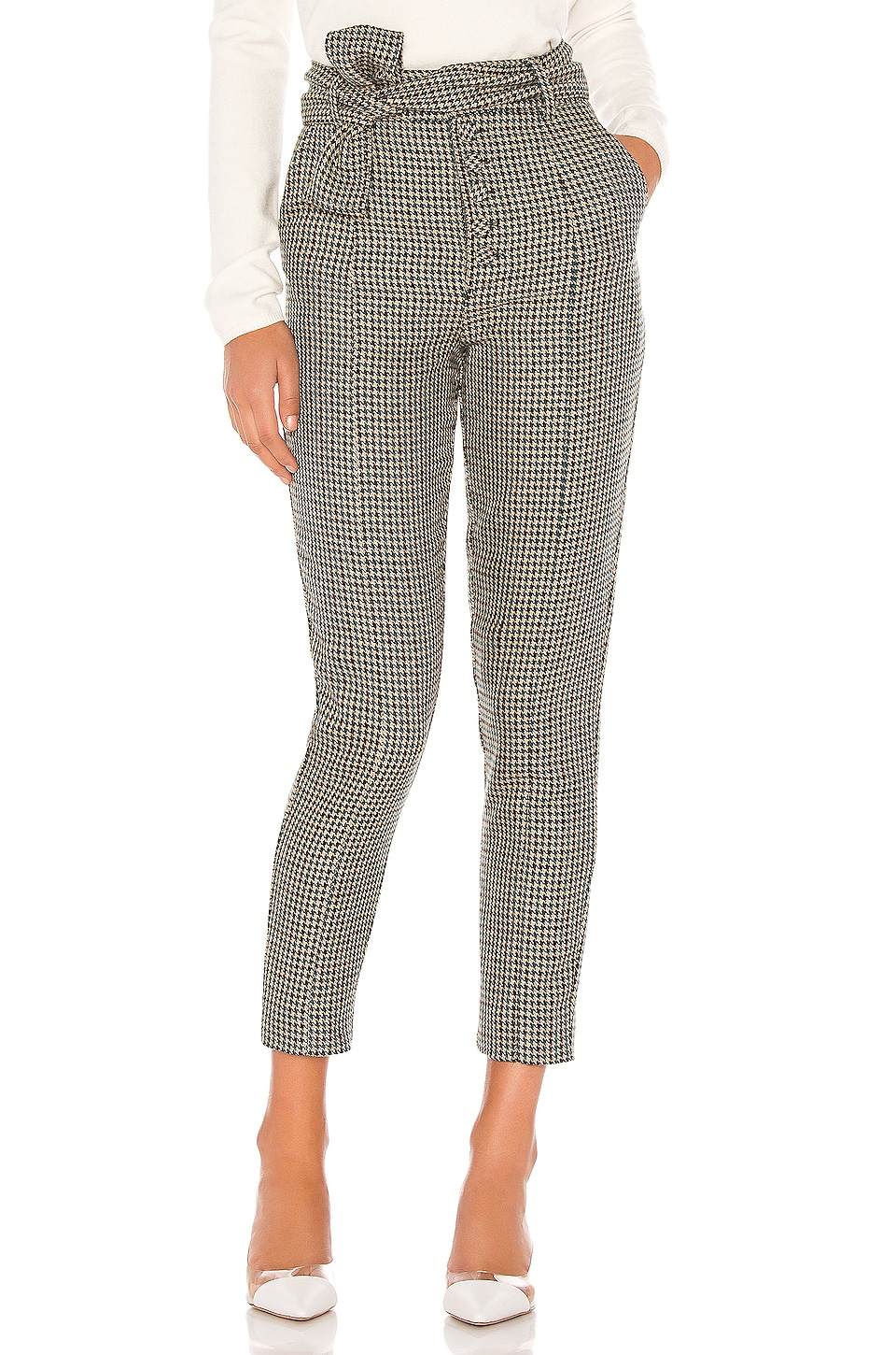 Lovers + Friends Dillion Pant in Teal & Black