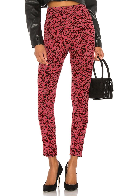 Lovers + Friends Becca Legging in Red Leopard