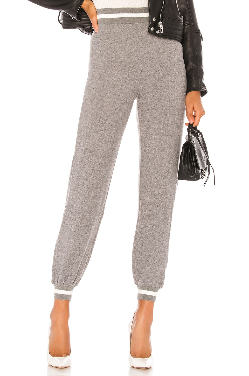 Lovers + Friends Raina Pant in Heather Grey