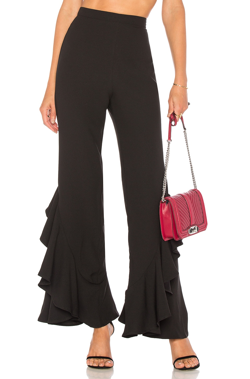 Lovers + Friends x REVOLVE Carmelita Flares in Black