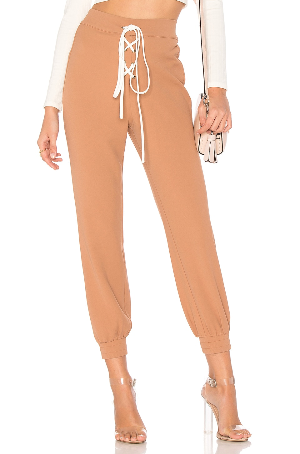Lovers + Friends x REVOLVE Manny Joggers in Camel