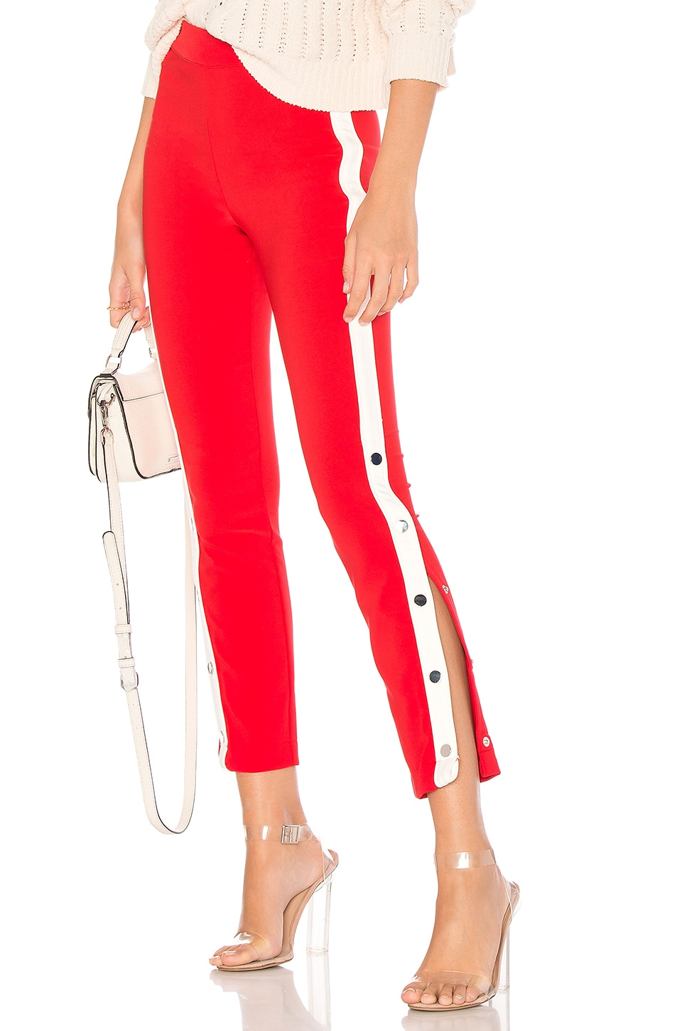 Lovers + Friends On Track Legging in Red