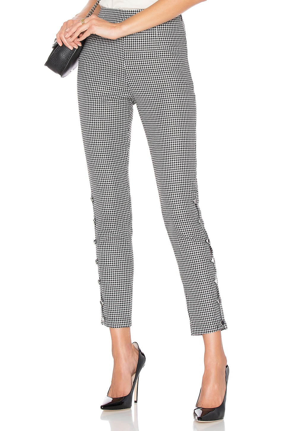 Lovers + Friends Allegro Pant in Sparkly Houndstooth