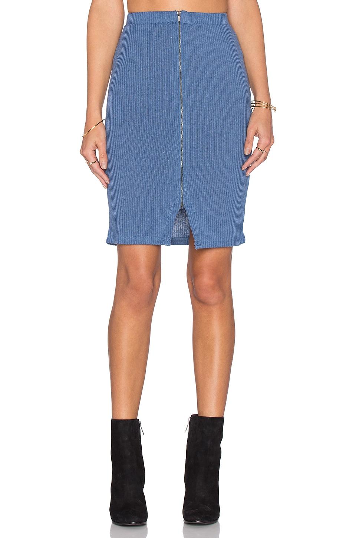 Lovers + Friends x REVOLVE Downtown Skirt in Light Blue