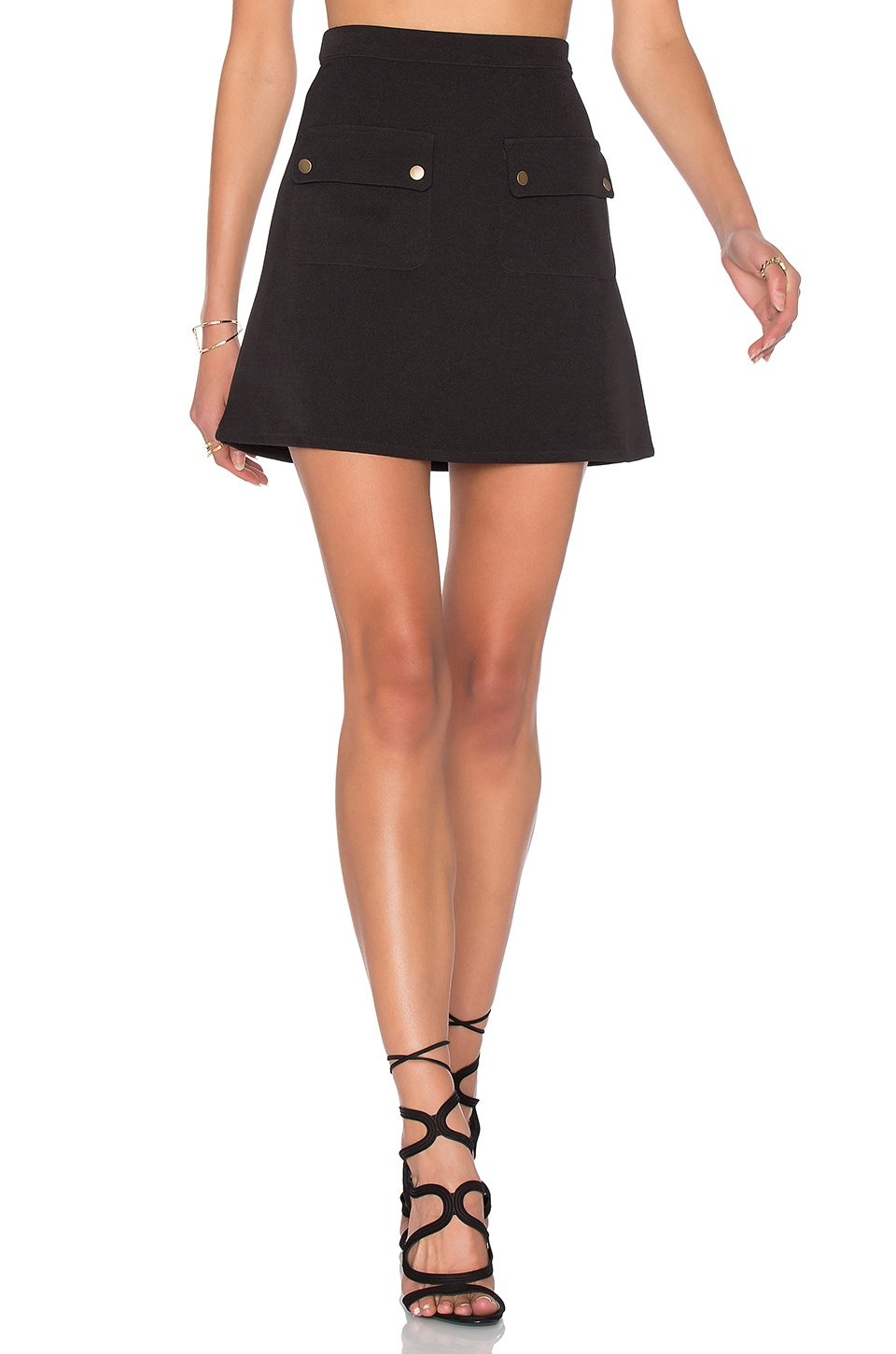 Lovers + Friends x REVOLVE Sienna Skirt in Black